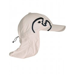 iQ UV 200 Cap with Neck Protection Beige