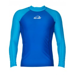 iQ UV Shirt Longsleeve Turquoise Blue