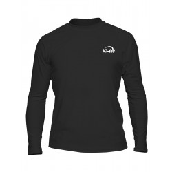 iQ UV T-Shirt Beach & Boat LS Black