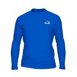 iQ UV T-Shirt Beach & Boat LS Blue
