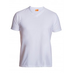 iQ UV 300 V-Shirt White