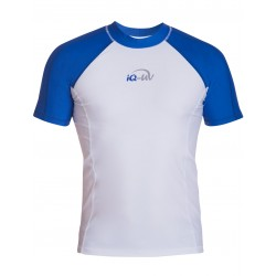 iQ UV 300 Shirt Blue White