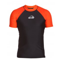 iQ UV 300 Shirt Orange Black