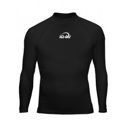 iQ UV 300 Shirt LS Black
