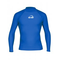 iQ UV 300 Shirt LS Blue