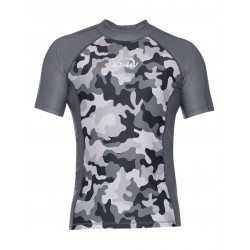 iQ UV 300 Shirt Watersport Camouflage Grey
