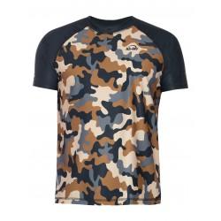 iQ UV 300 T-Shirt Beach & Boat Camouflage Olive