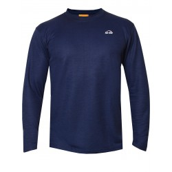 iQ UV T-Shirt LS Outdoor Dark Blue