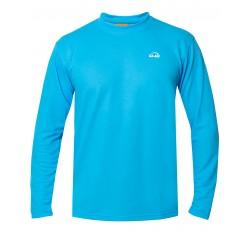 iQ UV T-Shirt LS Outdoor Turquoise
