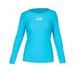 iQ UV 300 T-Shirt LS Turquoise