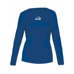 iQ UV 300 T-Shirt LS Blue
