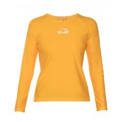 iQ UV 300 T-Shirt LS Yellow