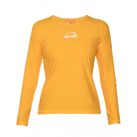 iQ UV 300 T-Shirt LS Yellow