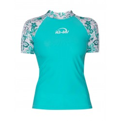 iQ UV 230 Shirt Waterspot Hippie Turquoise