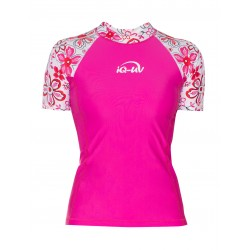 iQ UV 230 Shirt Waterspot Hippie Pink