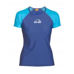 iQ UV 300 T-Shirt Beach & Boat Turquoise Blue