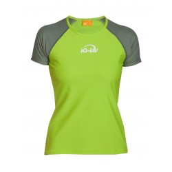 iQ UV 300 T-Shirt Beach & Boat Green Olive