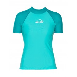 iQ UV 300 Shirt Watersport Turquoise Blue