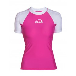 iQ UV 300 Shirt Watersport White Pink