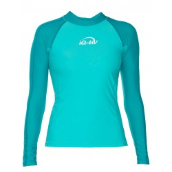 iQ UV 300 Shirt LS Watersport Turquoise Green
