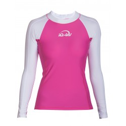 iQ UV 300 Shirt LS Watersport White Pink