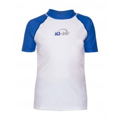 iQ Kids UV 300 Shirt Blue White