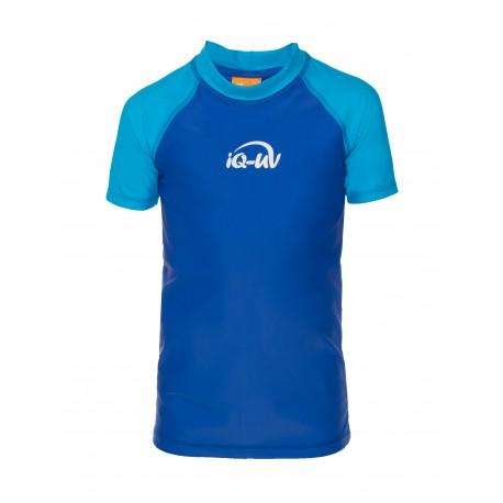 iQ Kids UV 300 Shirt Turquoise Blue
