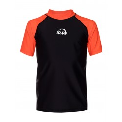 iQ Kids UV 300 Shirt Orange Black