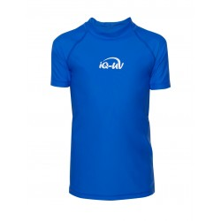 iQ Kids UV 300 Shirt Blue
