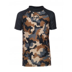 iQ Kids UV 230 Shirt Camouflage