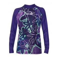 Koszulka iQ Kids UV 230 Shirt LS Flower