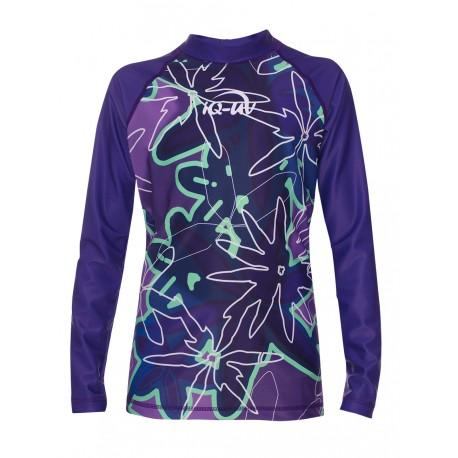 iQ Kids UV 230 Shirt LS Flower