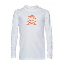iQ Kids UV 300 Shirt LS White