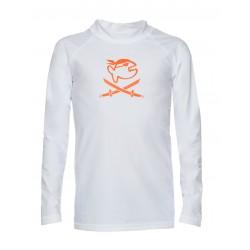 Koszulka iQ Kids UV 300 Shirt LS White