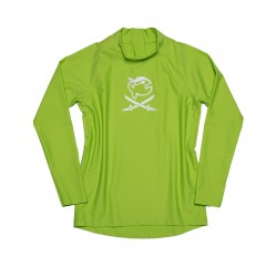 Koszulka iQ Kids UV 300 Shirt LS Neo Green