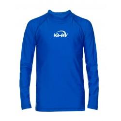 Koszulka iQ Kids UV 300 Shirt LS Blue