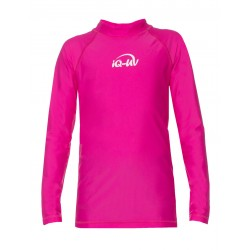 Koszulka iQ Kids UV 300 Shirt LS Pink