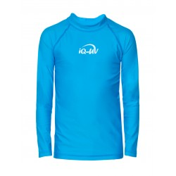 iQ Kids UV 300 Shirt LS Light Blue