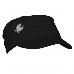 Czapka z osłoną na kark iQ UV 200 Protective Cap Rough Black
