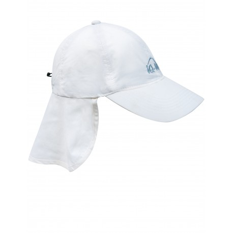 iQ UV 200 Cap with Neck Protection White