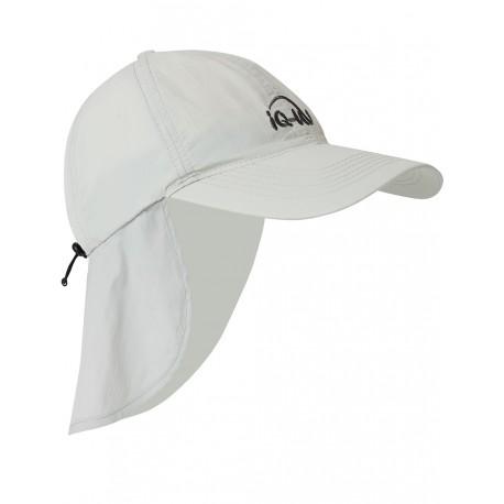 iQ UV 200 Cap with Neck Protection Grey