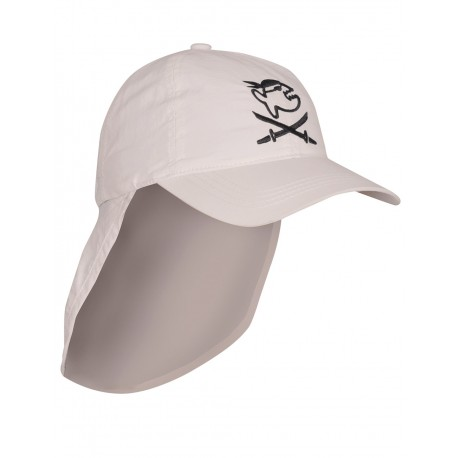iQ Kids UV 200 Cap with Neck Protection Beige