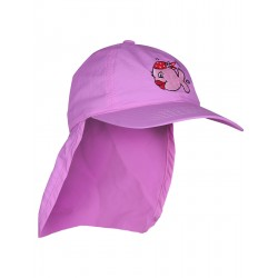 iQ Kids UV 200 Cap with Neck Protection Pink
