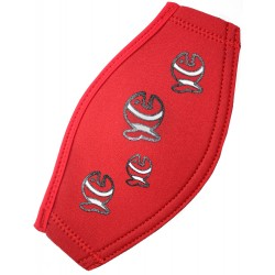 iQ Maskerband Allover Fish Red