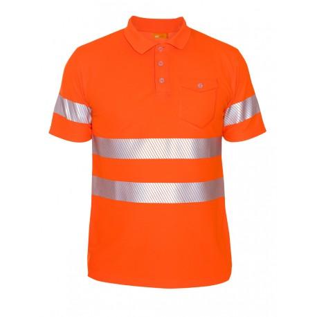 iQ UV Polo Shirt UV50+ EN20471 Kl. 2
