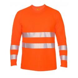 iQ UV Langarm Shirt UV50+ EN20471 Kl. 2