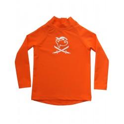 Koszulka iQ Kids UV 300 Shirt LS Orange