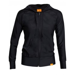 iQ UV Hooded Jacket Women Casual & Outdoor Black