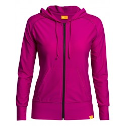 iQ UV Hooded Jacket Women Casual & Outdoor Violet