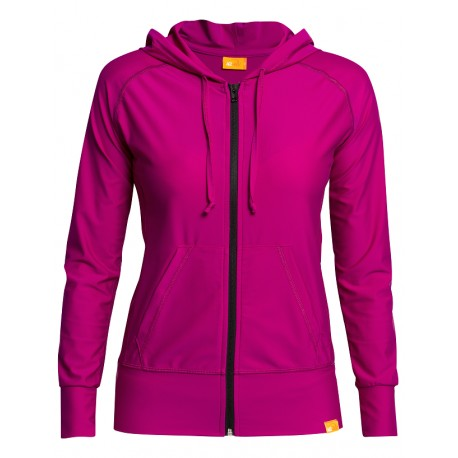 iQ UV Hooded Jacket Women Casual & Outdoor